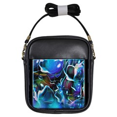 Water Is The Future Girls Sling Bags