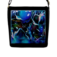 Water Is The Future Flap Messenger Bag (l)