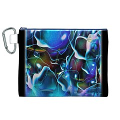 Water Is The Future Canvas Cosmetic Bag (xl)