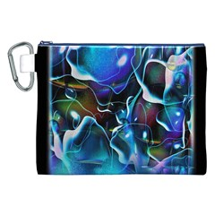 Water Is The Future Canvas Cosmetic Bag (xxl)
