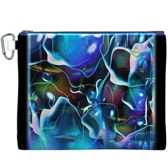 Water Is The Future Canvas Cosmetic Bag (XXXL)