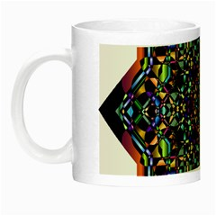 Mandala Abstract Geometric Art Night Luminous Mugs