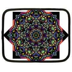 Mandala Abstract Geometric Art Netbook Case (XL)