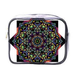 Mandala Abstract Geometric Art Mini Toiletries Bags
