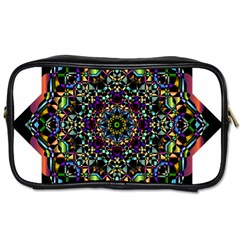 Mandala Abstract Geometric Art Toiletries Bags 2 Side