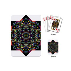 Mandala Abstract Geometric Art Playing Cards (Mini)