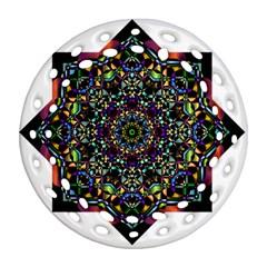 Mandala Abstract Geometric Art Ornament (round Filigree)