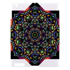 Mandala Abstract Geometric Art Apple iPad 3/4 Hardshell Case