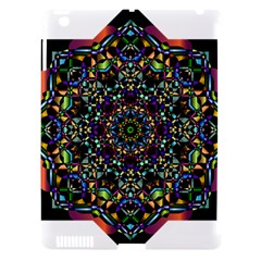 Mandala Abstract Geometric Art Apple Ipad 3/4 Hardshell Case (compatible With Smart Cover)