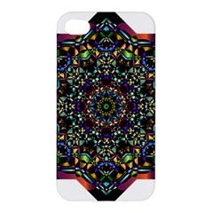Mandala Abstract Geometric Art Apple Iphone 4/4s Premium Hardshell Case