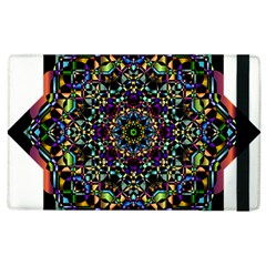 Mandala Abstract Geometric Art Apple Ipad 3/4 Flip Case