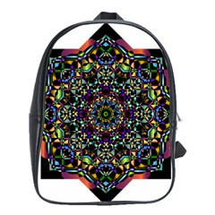Mandala Abstract Geometric Art School Bags (xl)