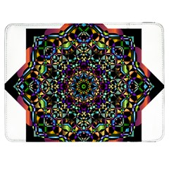 Mandala Abstract Geometric Art Samsung Galaxy Tab 7  P1000 Flip Case
