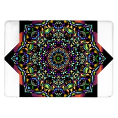 Mandala Abstract Geometric Art Samsung Galaxy Tab 10 1  P7500 Flip Case