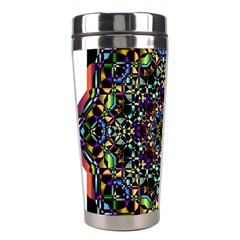 Mandala Abstract Geometric Art Stainless Steel Travel Tumblers