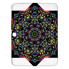 Mandala Abstract Geometric Art Samsung Galaxy Tab 3 (10 1 ) P5200 Hardshell Case
