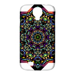 Mandala Abstract Geometric Art Samsung Galaxy S4 Classic Hardshell Case (pc+silicone)