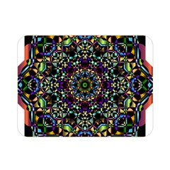 Mandala Abstract Geometric Art Double Sided Flano Blanket (mini)