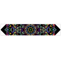 Mandala Abstract Geometric Art Flano Scarf (Large)