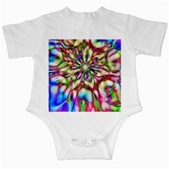 Magic Fractal Flower Multicolored Infant Creepers