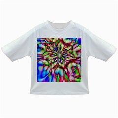 Magic Fractal Flower Multicolored Infant/Toddler T-Shirts