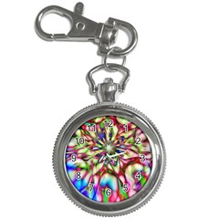 Magic Fractal Flower Multicolored Key Chain Watches