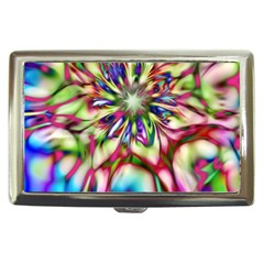Magic Fractal Flower Multicolored Cigarette Money Cases