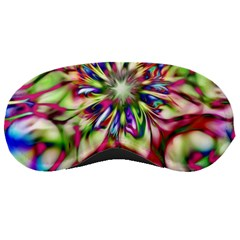 Magic Fractal Flower Multicolored Sleeping Masks