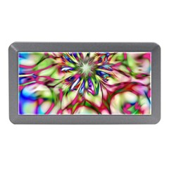 Magic Fractal Flower Multicolored Memory Card Reader (Mini)