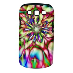 Magic Fractal Flower Multicolored Samsung Galaxy S III Classic Hardshell Case (PC+Silicone)