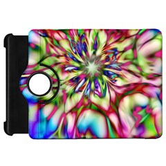 Magic Fractal Flower Multicolored Kindle Fire HD 7