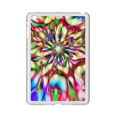 Magic Fractal Flower Multicolored iPad Mini 2 Enamel Coated Cases