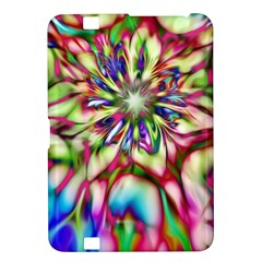 Magic Fractal Flower Multicolored Kindle Fire HD 8.9