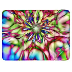 Magic Fractal Flower Multicolored Samsung Galaxy Tab 7  P1000 Flip Case