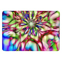 Magic Fractal Flower Multicolored Samsung Galaxy Tab 8.9  P7300 Flip Case
