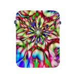 Magic Fractal Flower Multicolored Apple iPad 2/3/4 Protective Soft Cases Front