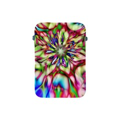 Magic Fractal Flower Multicolored Apple iPad Mini Protective Soft Cases