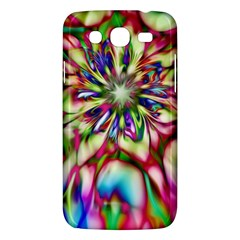 Magic Fractal Flower Multicolored Samsung Galaxy Mega 5.8 I9152 Hardshell Case