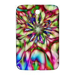 Magic Fractal Flower Multicolored Samsung Galaxy Note 8.0 N5100 Hardshell Case