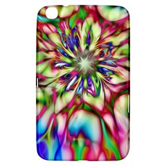 Magic Fractal Flower Multicolored Samsung Galaxy Tab 3 (8 ) T3100 Hardshell Case
