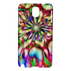 Magic Fractal Flower Multicolored Samsung Galaxy Note 3 N9005 Hardshell Case