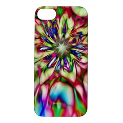 Magic Fractal Flower Multicolored Apple iPhone 5S/ SE Hardshell Case