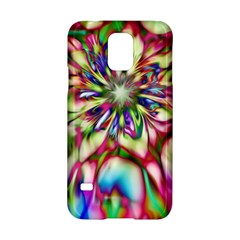 Magic Fractal Flower Multicolored Samsung Galaxy S5 Hardshell Case