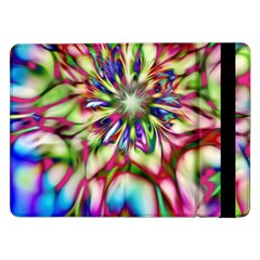 Magic Fractal Flower Multicolored Samsung Galaxy Tab Pro 12.2  Flip Case