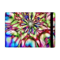 Magic Fractal Flower Multicolored iPad Mini 2 Flip Cases