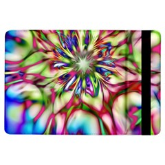 Magic Fractal Flower Multicolored iPad Air Flip