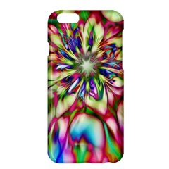 Magic Fractal Flower Multicolored Apple iPhone 6 Plus/6S Plus Hardshell Case