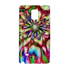 Magic Fractal Flower Multicolored Samsung Galaxy Note 4 Hardshell Case