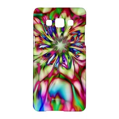 Magic Fractal Flower Multicolored Samsung Galaxy A5 Hardshell Case