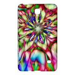 Magic Fractal Flower Multicolored Samsung Galaxy Tab 4 (7 ) Hardshell Case